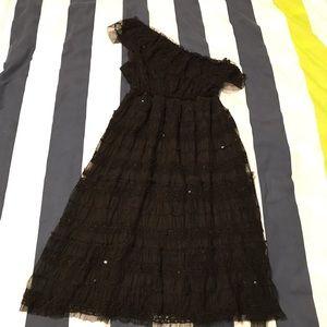 Max Studio Lace Sequin Dress